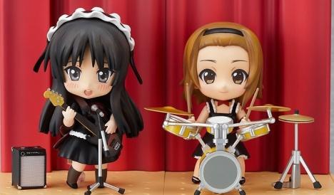 Akiyama Mio and Tainaka Ritsu Set - Nendoroid K-ON!