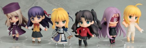 Nendoroid Petit Fate/Stay Night Saber Rin Rider Sakura