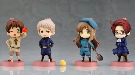 One Coin Grande Hetalia Pre-Painted Trading Figures Vol.2
