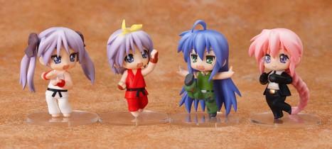 Lucky Star x Street Fighter - Nendoroid Petite