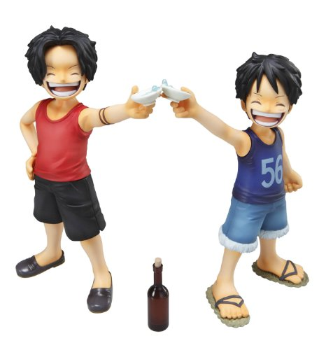 Luffy and Ace from One Piece