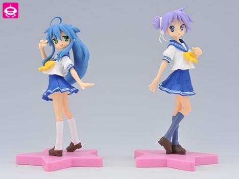 Izumi Konata and Hiiragi Kagami - Lucky Star Figure