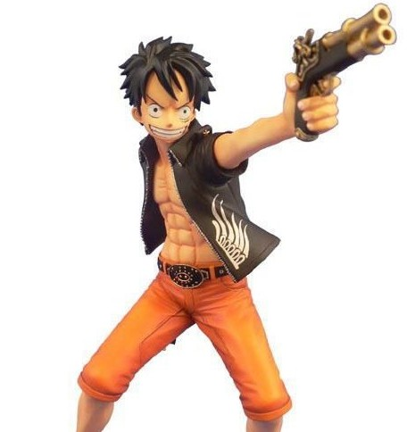 Monkey D. Luffy The Three Musketeers Ver. - One Piece - Door Painting Collection