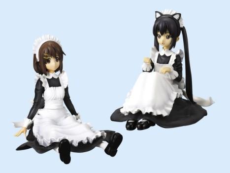 Nakano Azusa and Hirasawa Yui - K-On! Maid Ver. 3