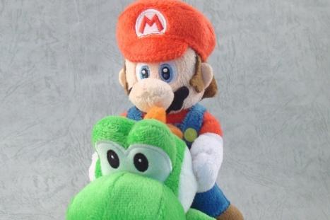 Mario + Yoshi - Super Mario Plush