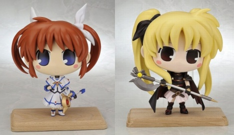 Nanoha Takamachi Fate Testarossa Magical Girl Lyrical Nanoha The Movie 1st