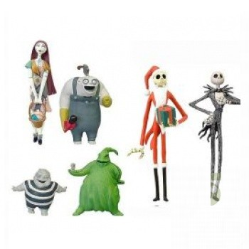 The Nightmare Before Christmas Pre-Painted Desktop PVC Figure: Special Set B
