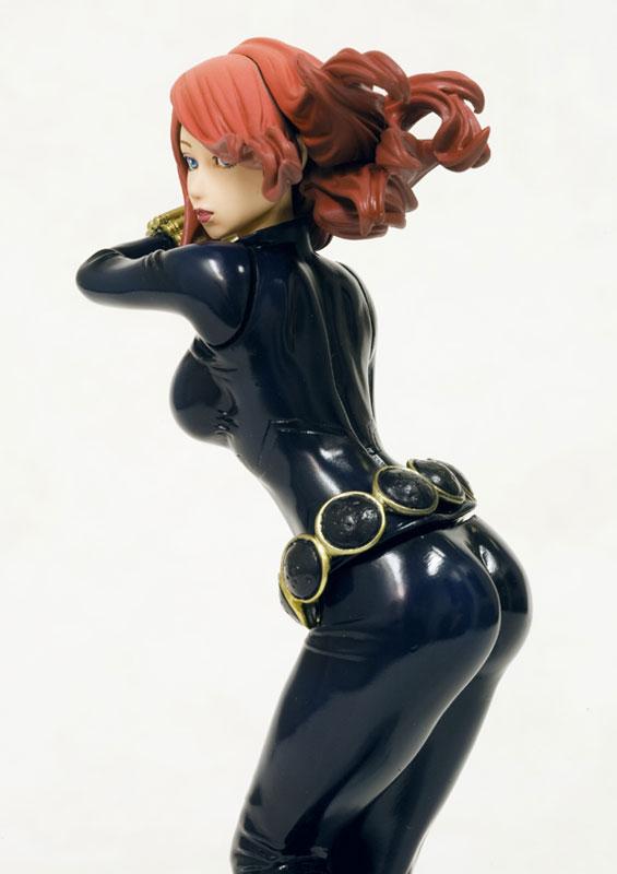 Black Widow Marvel Bishoujo 1 8 Scale Pre Painted Pvc