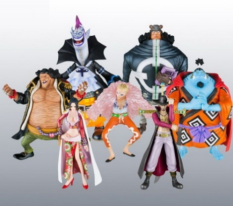 The Seven Warlords of the Sea - One Piece Super Modeling Soul