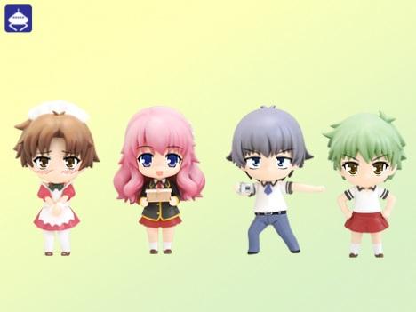 Akihisa Yoshii, Mizuki Himeji, Aiko Kudo, Kota Tsuchiya - Nendoroid Petite Baka to Test to Shokanju Sega