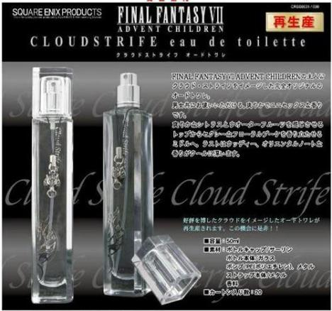 Final Fantasy VII - Advent Children Eau de Toilette Cloud Strife and Sephiroth