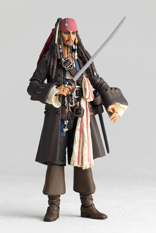 Jack Sparrow Sci Fi Revoltech Series No 025 Pirates Of