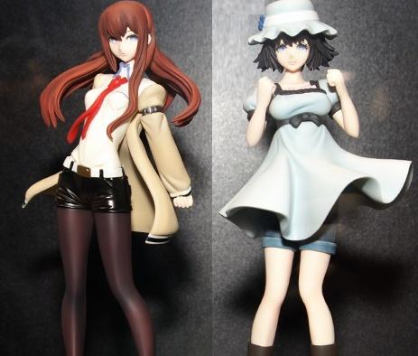 Mayuri & Makise Kurisu - Steins;Gate Non-Scale Pre-Painted Super Quality PVC Figures