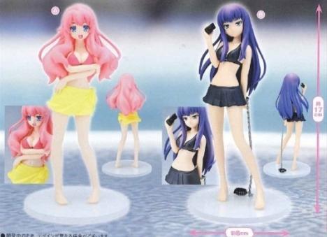 Mizuki Himeji and Shouko Kirishima Swimsuit Ver. - Baka to Test to Shokanju