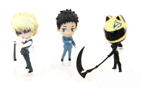 Celty, Shizuo and Mikado - Durarara!!