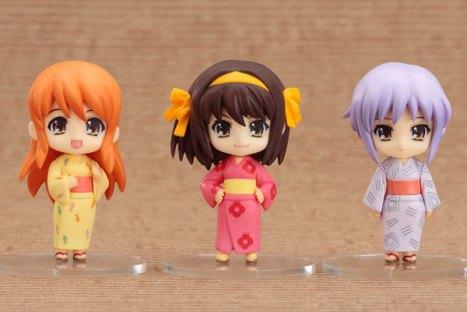 Haruhi, Asahina and Yuki Haruhi Summer Festival Set