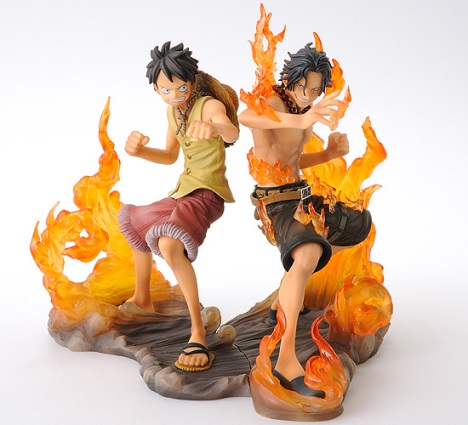 Portgas D. Ace & Monkey D. Luffy - One Piece Brotherhood