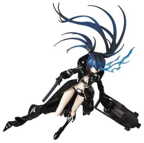 Black Rock Shooter RAH - Real Action Heroes - Black Rock Shooter Pre-Painted Action Figure 4