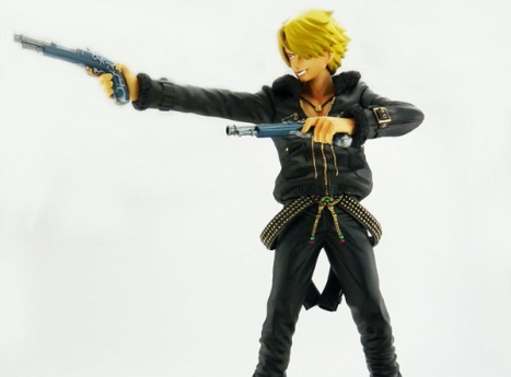 Sanji - The Three Musketeers Ver. - One Piece - Door Painting Collection Plex