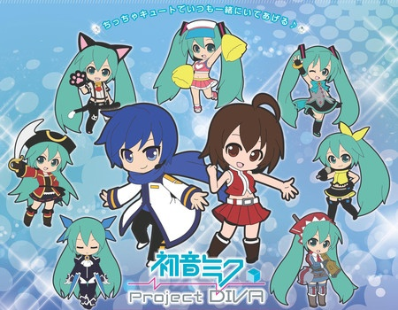 Character Vocal Series Miku Hatsune Project Diva Trading Strap Track 3