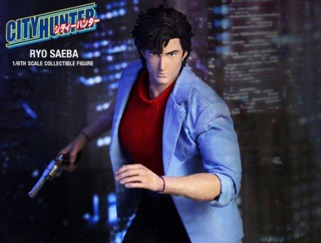 Ryo Saeba - Comic Masterpiece City Hunter