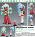 Scanty & Kneesocks with Fastener - Twin Pack+ Panty & Stocking with Garterbelt Non Scale Pre-Painted PVC Figure 3