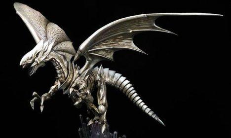 Blue Eyes White Dragon - Yu-Gi-Oh! Duel Monsters Artwork Series