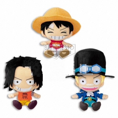 Luffy, Ace and Sabo - One Piece - Promise Between Brothers High Quality Plush Dolls