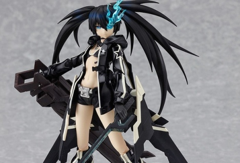 Figma BRS2035 - Black Rock Shooter PSP Game Ver.