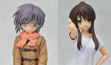 Haruhi Suzumiya and Yuki Nagato - Suzumiya Haruhi no Yuutsu