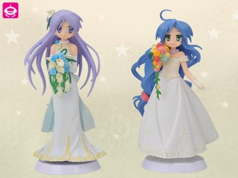 Izumi Konata and Hiiragi Kagami - Lucky Star Non Scale Extra Summer Wedding Sega