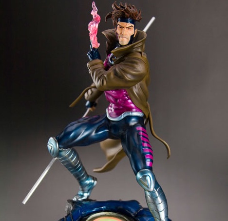 Gambit - Fine Art Statue X-MEN - DANGER ROOM SESSIONS