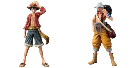 Monkey D. Luffy and Usopp - One Piece The Grandline Men Vol. 10 Banpresto