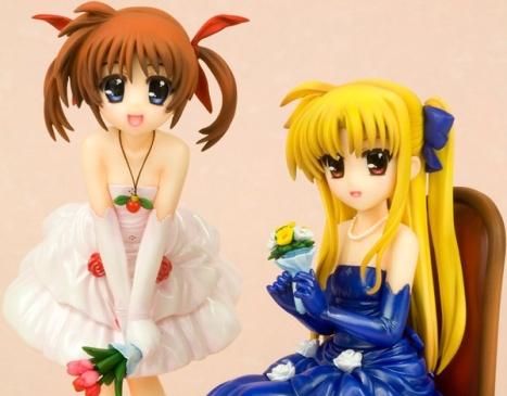 Takamachi Nanoha & Fate Testarossa Dress Ver. - Magical Girl Lyrical Nanoha The Movie 1st