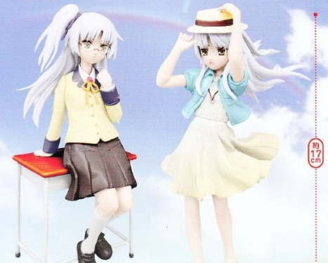 Kanade School and Summer Uniform Ver. - Angel Beats!