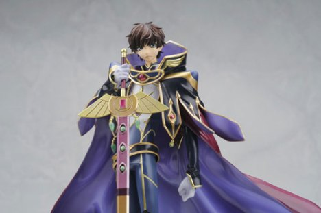 Kururugi Suzaku Knight of Zero - Code Geass Lelouch of the Rebellion R2