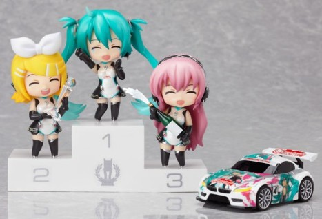 Racing Miku Set 2011 Ver. - Nendoroid Petite