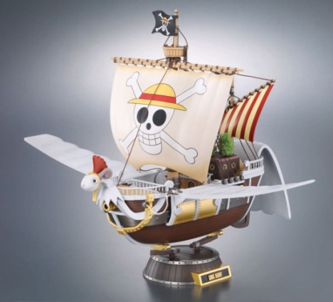 Chogokin Going Merry - One Piece Pre-Painted Model