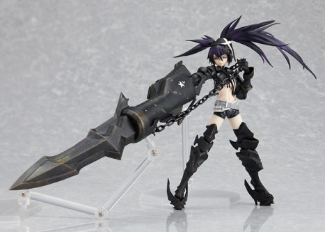 Figma Insane Black Rock Shooter - Pre-painted Figure