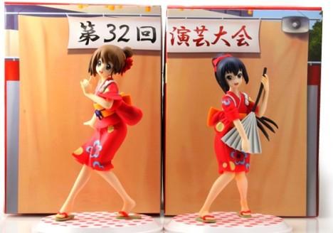 Hirasawa Yui and Azusa Nakano Yukata Engeki Taikai! Ver. - K-On!
