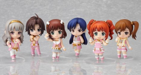 Nendoroid Petite: THE IDOLM@STER 2 - Stage 01 Pre-Painted Figures