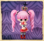 Perona - Chibi Arts One Piece Non Scale Pre-Painted PVC Figure 3