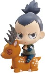 Naruto Petit Chara Land Pre-Painted PVC Trading Figure Kuchiyose no Jutsu Dattebayo! Shippuden Summoning technique believe it Yondaime Sasuke Gara Kakashi Shikamaru 2