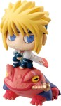 Naruto Petit Chara Land Pre-Painted PVC Trading Figure Kuchiyose no Jutsu Dattebayo! Shippuden Summoning technique believe it Yondaime Sasuke Gara Kakashi Shikamaru 6