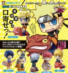 Naruto Petit Chara Land Pre-Painted PVC Trading Figure Kuchiyose no Jutsu Dattebayo! Shippuden Summoning technique believe it Yondaime Sasuke Gara Kakashi Shikamaru