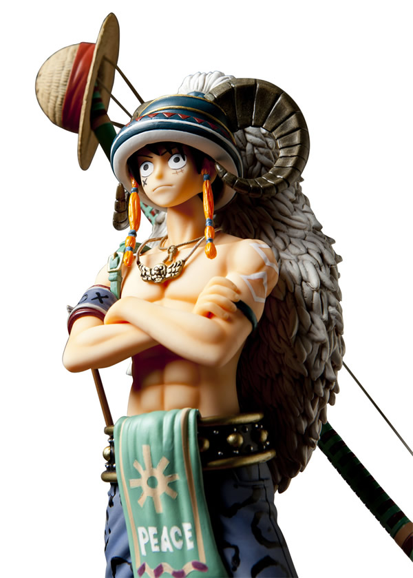 D Exhibition One Piece : Monkey d luffy animal ver one piece door painting
