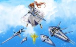 Nanoha High CW-AEC00X Fortress & CW-AEC02X Strike Cannon - Magical Record Lyrical Nanoha Force 18 Scale Pre-Painted PVC Figure Freeing