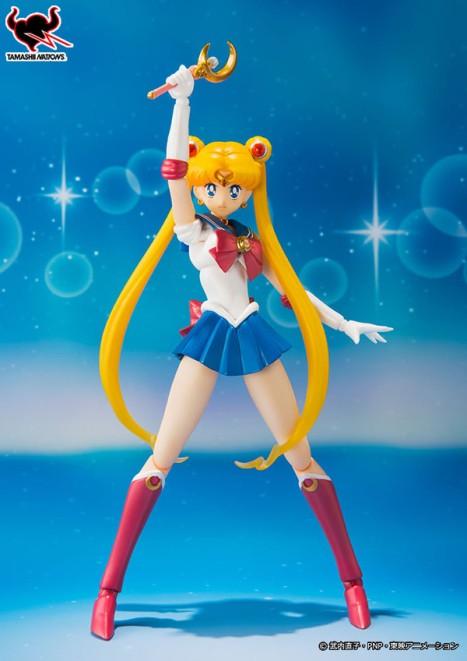 S.H.Figuarts Sailor Moon Non Scale Pre-Painted Action PVC Figure 2