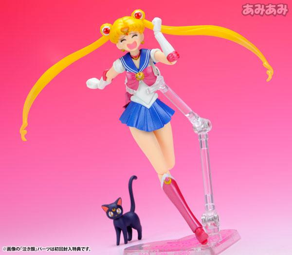 S.H.Figuarts Sailor Moon Non Scale Pre-Painted Action PVC