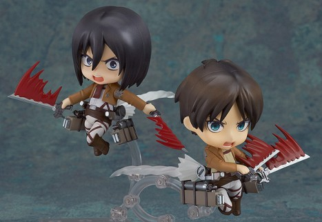 Eren Jaeger - Shingeki no Kyojin - Attack on Titan - Nendoroid Pre-Painted Figure 6